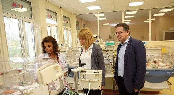 Фандъкова: Инвестициите в Първа АГ болница са за 2,8 млн. лв.