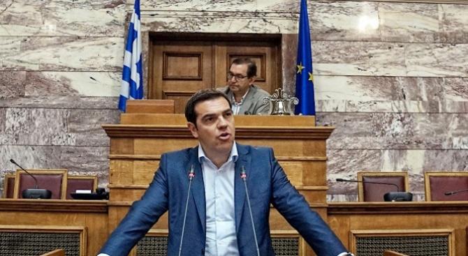 Ципрас заяви, че поема политическата отговорност за трагедията с пожарите