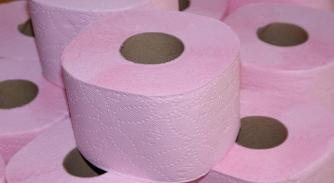 Американското посолство в Лондон предлага на търг тоалетна хартия