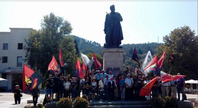 Патриотите от ВМРО с шествие в Благоевград по случай Илинденско-Преображенското въстание
