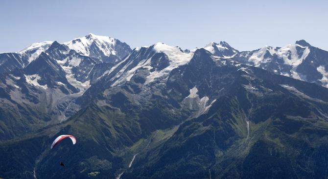 Алпинисти загинаха под Монблан