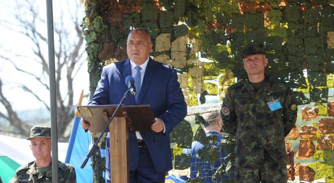 Борисов за изказването на Заев: Всеки да си мери приказките (видео)