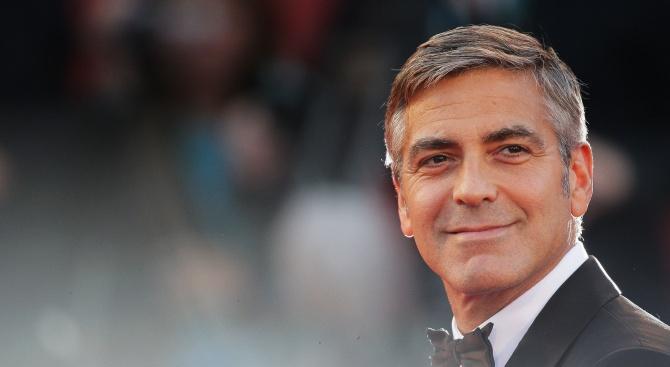 Джордж Клуни e най-високоплатеният актьор в света