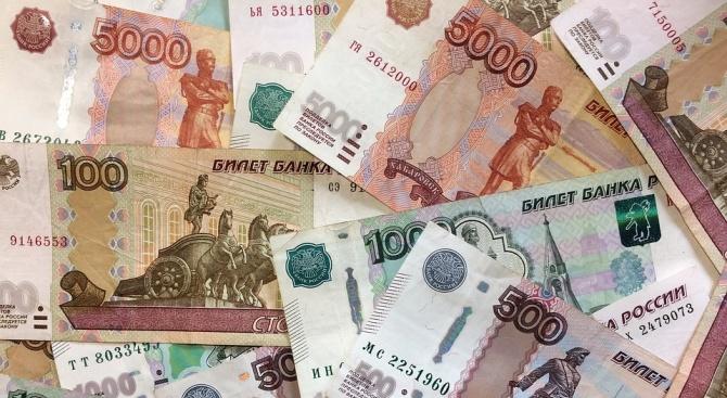 Рублата приближава границата от 80 за 1 евро