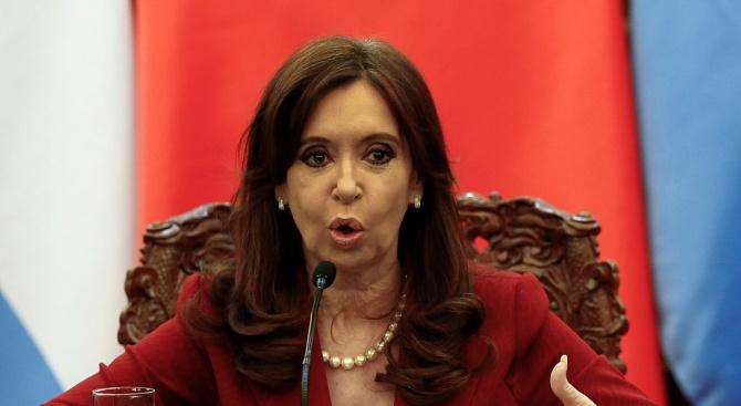 Обискираха дома на бившия аржентински президент Кристина Фернандес