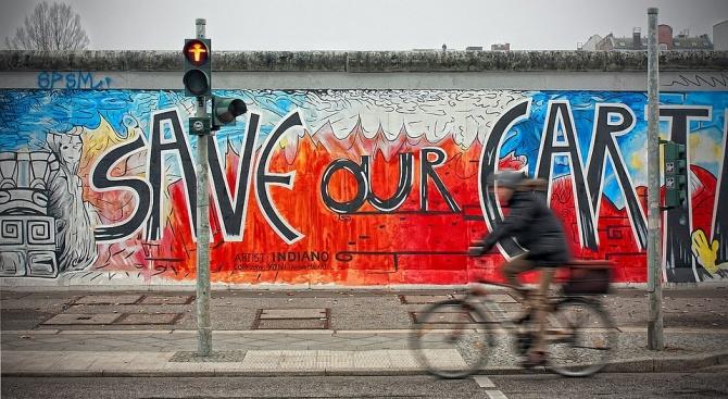 Художници ще възстановят временно част от Берлинската стена