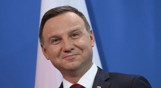 Полският президент ще посети Белия дом в средата на септември