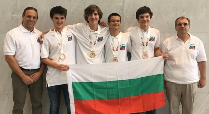 Един златен и три бронзови медала спечелиха българските ученици от олимпиадата по информатика в Япония