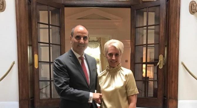 Цветанов обсъди Брекзит с посланика на Кралство Великобритания в България