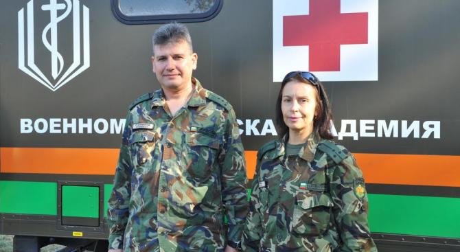 Военни лекари с открит урок в Световния ден на мира