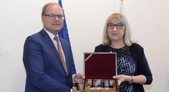 Цецка Цачева се срещна с главния прокурор на федерална  провинция Бавария