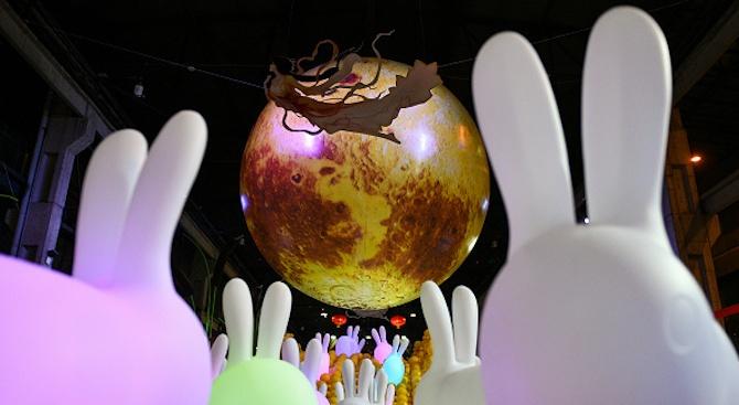 Зрелищен фестивал на фенерите се проведе в Китай