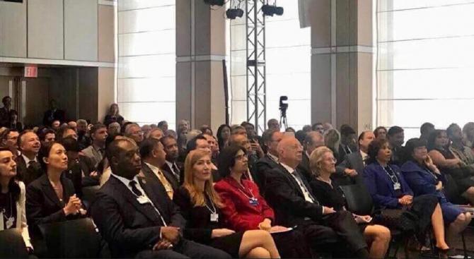 Ангелкова взе участие на Световния икономически форум в Ню Йорк