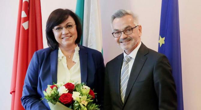 Нинова се срещна с посланика на Полша