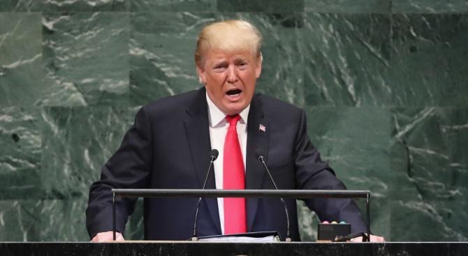 Ето какво каза Тръмп в речта си пред Общото събрание на ООН