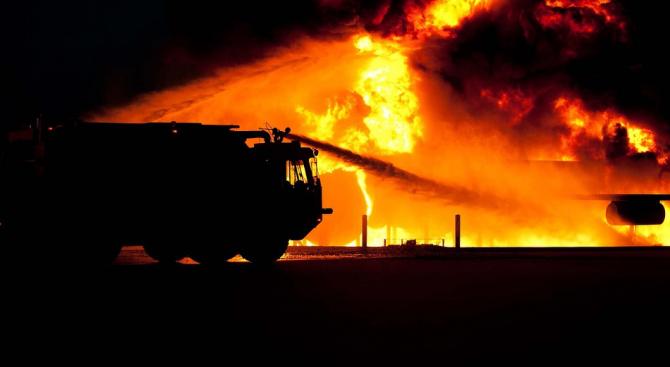 Пожар отне живота на възрастен мъж в Русе