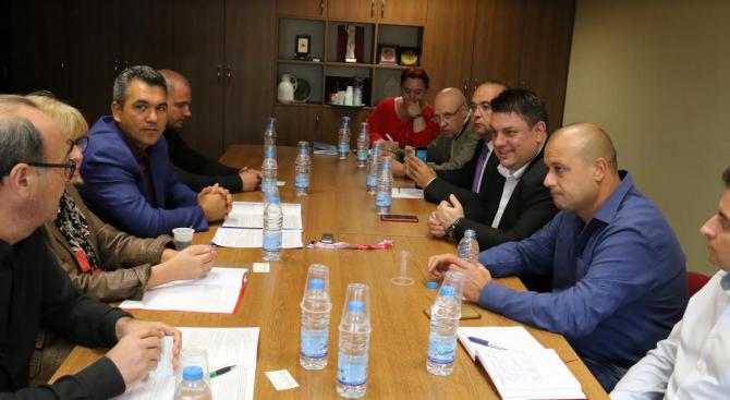 БСП се срещна с Асоциацията на производителите и вносителите на хранителни добавки в България
