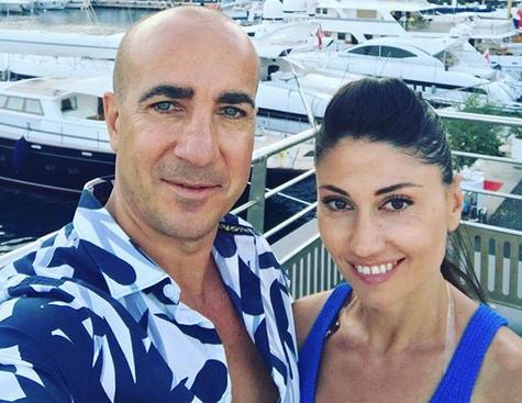 Вдовицата на Емил Шарков показа новия си мъж (снимки)