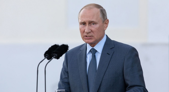 Путин с остри думи за България
