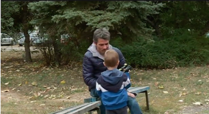 Баща си върна 3-годишния син след дълга битка