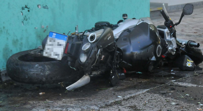 22-годишен мотоциклетист загина край село Оброчище