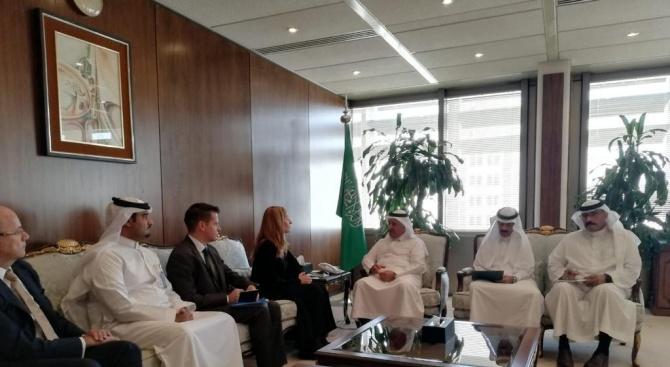 Ангелкова се срещна в Рияд със зам.-министъра на финансите на Саудитска Арабия