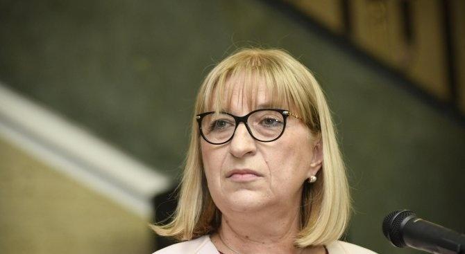 Цецка Цачева заминава за Люксембург