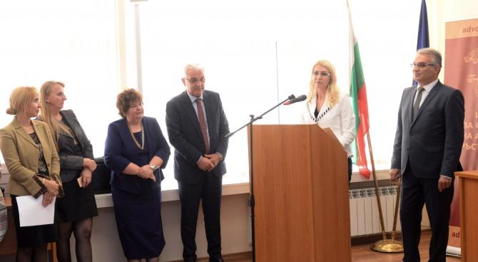 Зам.-министър Ахладова: Ролята на Центъра за обучение на адвокати е от изключително значение