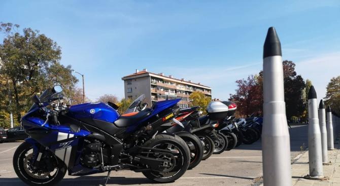 Мотористи подкрепиха информационна кампания на ВМА за донорството (снимки)