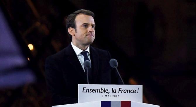 Съюзник на Еманюел Макрон стана шеф на френското МВР