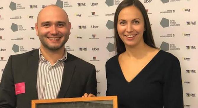 """Българин спечели наградата """"Герой на малкия и среден бизнес"""" на МСП Европа"""
