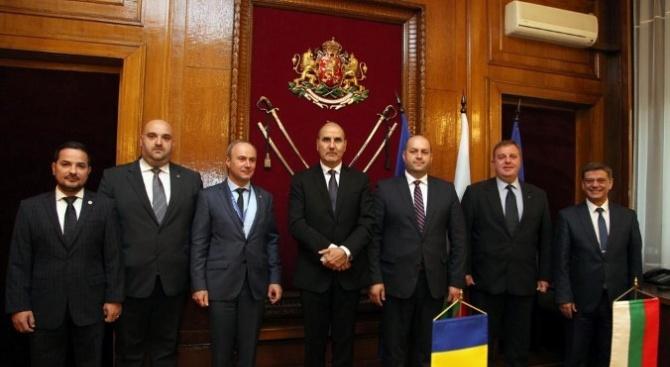 Председателят на Комисията по отбрана в Камарата на представителите на Румъния се срещна с Каракачанов