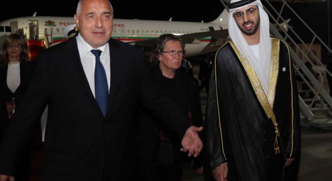 Борисов ще разговаря с премиера на ОАЕ в Дубай