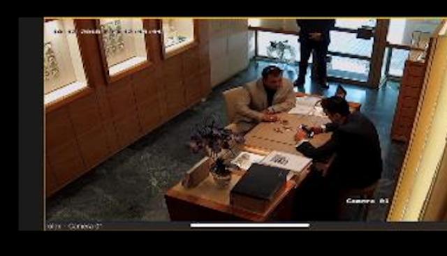 Ето го крадеца на ултртаскъпия Ролекс (снимки)