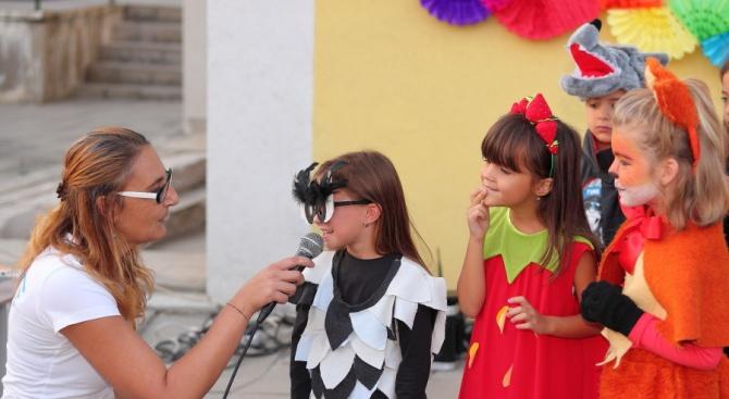 119 деца участваха в карнавал на биоразнообразието в Банкя