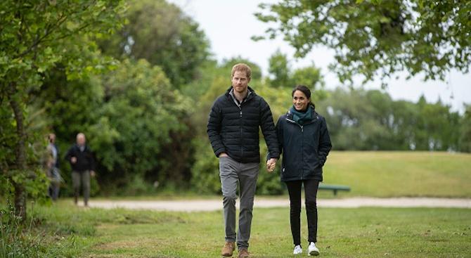 Земетресение в Нова Зеландия по време на визитата на принц Хари и Меган