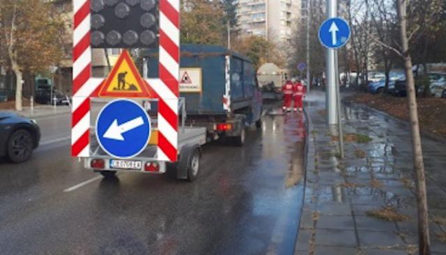 Мият улиците в София заради очакваните по-високи нива на фини прахови частици