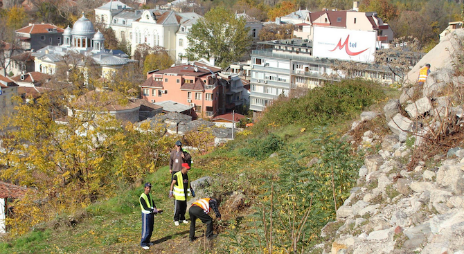 Започна мащабен ремонт на пловдивския хълм Бунарджика