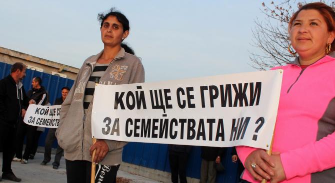 Птицевъди протестираха срещу БАБХ във ферма до Хасково (снимки)