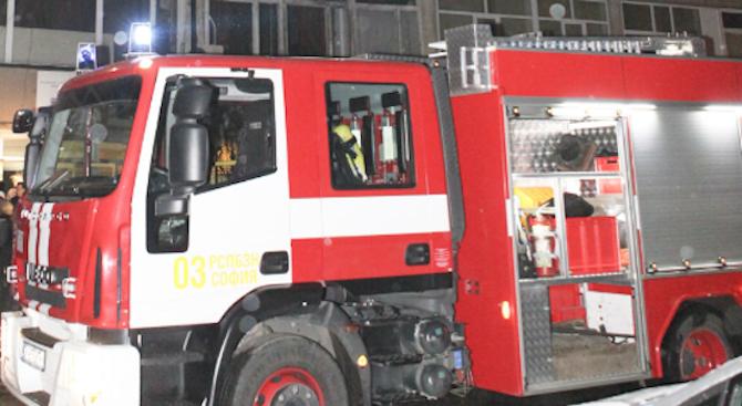 Пожар изпепели стопанска сграда в брезнишко село