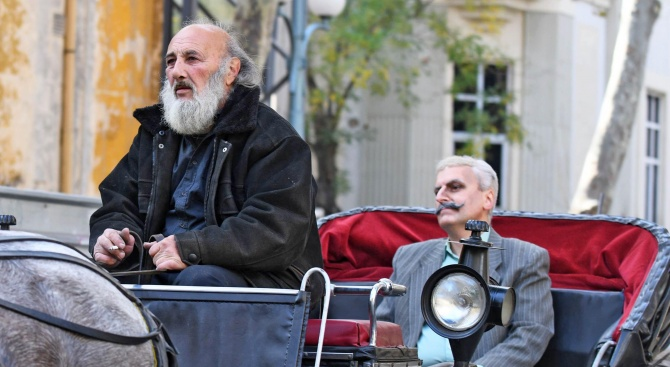 Възстановка пресъздаде посрещане на Иван Вазов в Пловдив (снимки)
