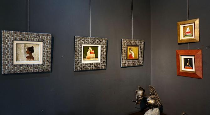"""Художник от Вършец е бил измамен от """"братовчед"""", на когото дал 70 картини да ги продава"""