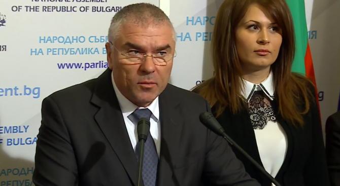 Марешки: И ние може да бъдем извън парламента, но това няма да напълни джобовете на българите