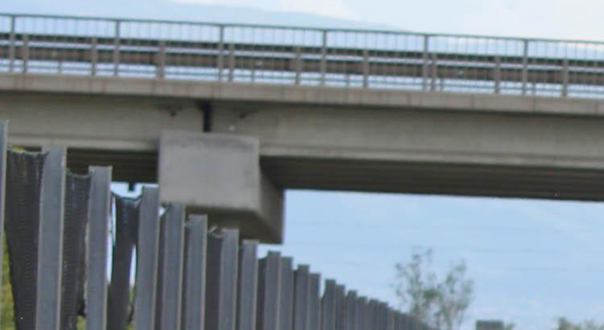 "Завърши ремонтът на моста при деветия км на магистрала ""Хемус"""