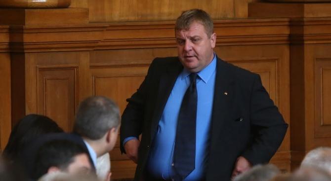 Каракачанов: Предстои Валери Симеонов да се върне в парламента