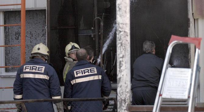 Мъж загина при пожар в изоставен трафопост във Велико Търново