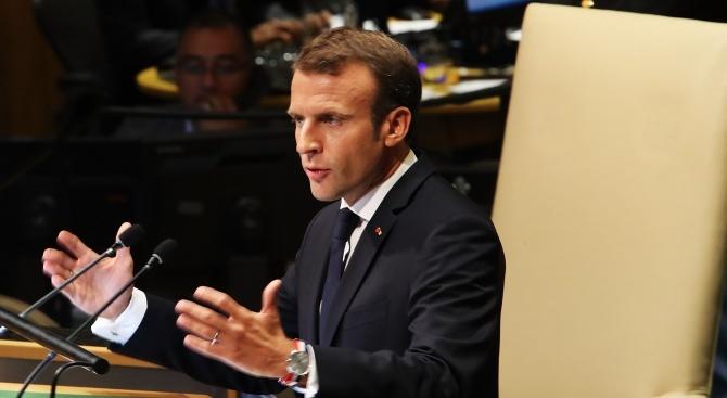 Френската прокуратура разследва част от финансирането на кампанията на Макрон