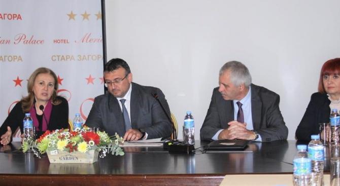 Министър Маринов участва в работна среща на областните управители в Стара Загора