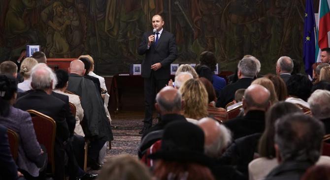 Румен Радев: Единението на българския народ трябва да се осъществява около духовните ни ценности