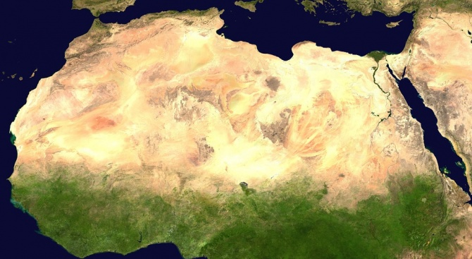 Странно бучене се чува край бреговете на Африка